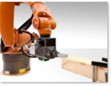 智能机器人加工木材系统