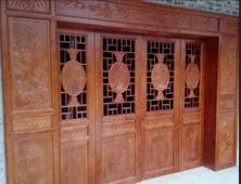四川仿古门窗、实木雕花门窗、四合院古建门窗厂家