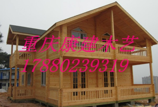 广元防腐木木屋实木木屋景区售货木屋重庆制作厂家