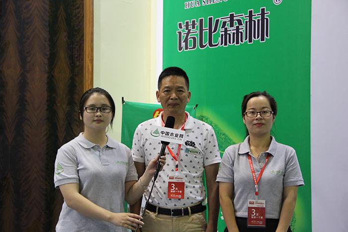 中国木业网专访诺比森林周总