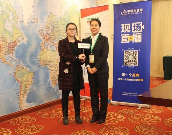 中国木业网专访平安树赵总