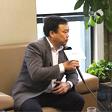 中国木业网记者专访鹏森缘董事长覃显斌