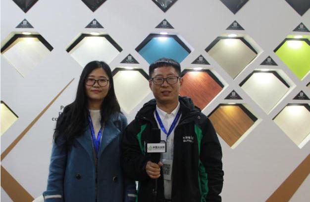 中国木业网专访七彩蝶品牌总监夏建生