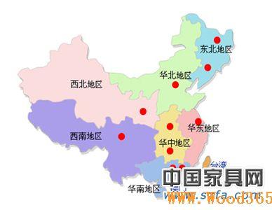 广州辐射全国地图
