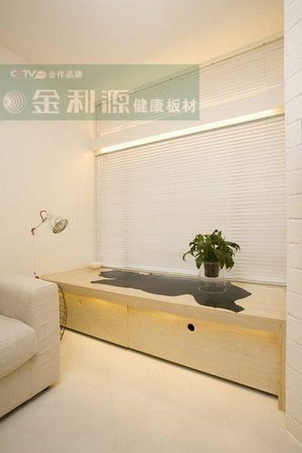 39平米超小户型竟装出两个卧室 金利源板材实用设计案例