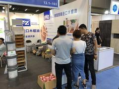 德国原装进口pnz木蜡油精彩亮相广州建博会