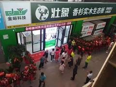 高歌猛进 壮象长沙蓝天建材市场新店盛大开业