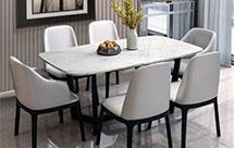 六人餐桌尺度尺寸是多少 实用餐桌选择技巧