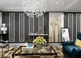 9款简欧风格客厅装修效果图,装修效果图看的不在多,而在精!