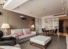 双方父母都能住进来,160平米复式公寓装修效果图