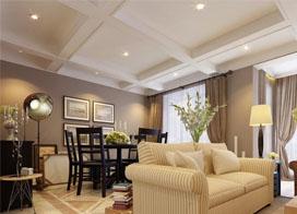 160平简欧风格装修效果图,喜欢这样的沙发!