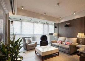 120现代风格带阁楼装修效果图