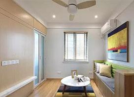 55平小两房一厅装修效果图,合理设计散发新魅力