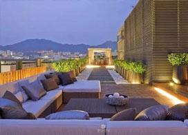19款舒适的别墅屋顶花园效果图片展示