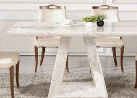 10款大理石餐桌图片