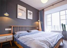 20张现代风格卧室窗帘图片