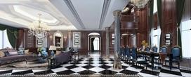 英伦风格别墅装修效果图分享