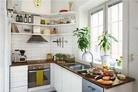 小厨房橱柜效果图大全