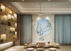 13款装修优雅的茶室设计图效果图