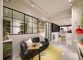 一室户小户型改造翻新 比样板房还要功能齐全