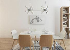 11张家庭用餐桌图片欣赏
