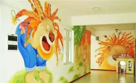 手ζ 绘墙颜料:丙烯颜料更◆合适手绘墙用