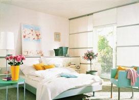 一组田园风格卧室图片分享