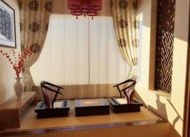 窗台榻榻米后果图,阳台设计可以大年夜胆一些!