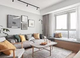 125平现代日系三室两厅装修效果图分享