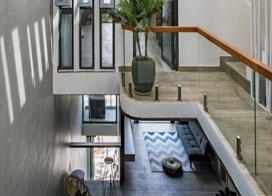 室内装修设计低调奢华装修风格,清新自然的越南别墅