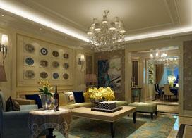 8款美式家装客厅吊顶效果图,高贵大气,经典不过时