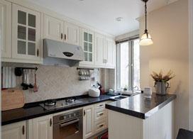 8张厨房间装修效果图,一定有适合你家风格的那一款