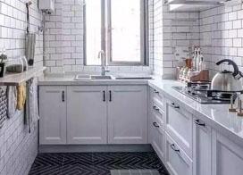 15款新式厨房装修效果图,小户型就这么装