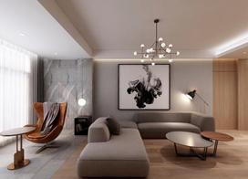 20款现代风格的客厅效果图欣赏