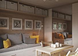30平米单身公寓装修,现代风的装修着实迷人,小小户型功能俱全