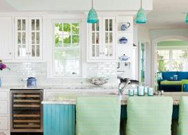 奇妙的设计,厨房吧台开放式图片赏析