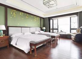 15款简中式家装效果图,主卧不仅空间大设计也独特得很