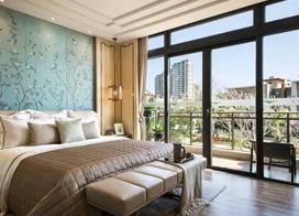 轻奢新中式卧室装修效果图,各有各的美