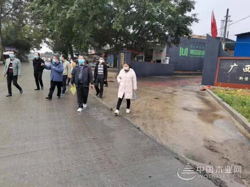 鹏森缘认真落实防控工作 获柳城县领导认可