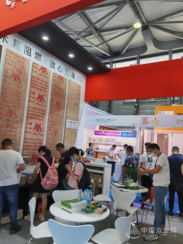 木易阻燃板参加第二十六界中国国际家具展