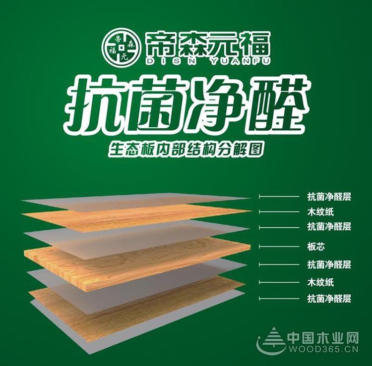 帝森元福净醛抗菌板材发布《法律承诺书》