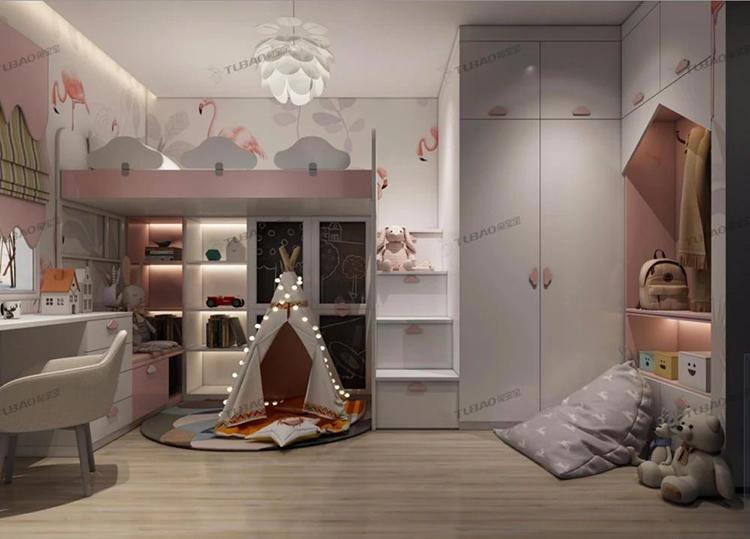 兔宝宝全屋定制倾慕系列整体衣柜—梦想家