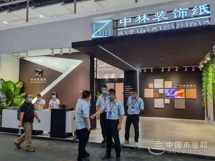自然本真,无懈可击,中林装饰纸强势亮相广州建博会