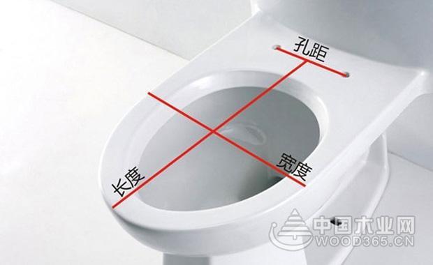 马桶盖尺寸怎么测量