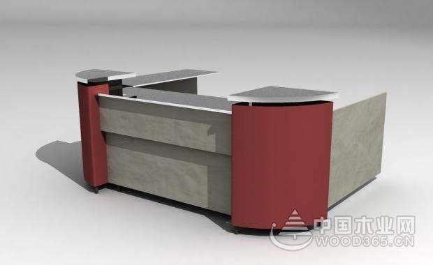 站立式柜台和坐立式服务台尺寸介绍