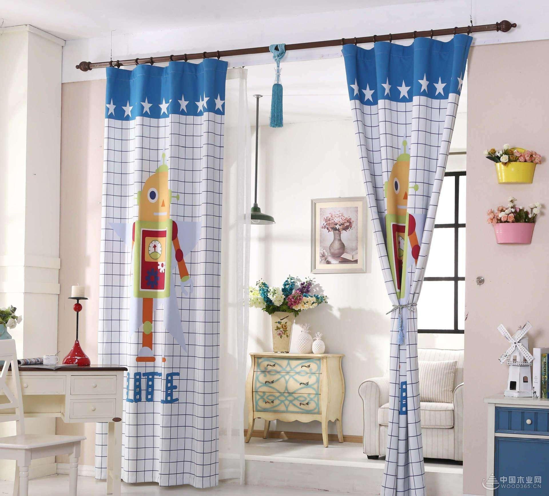 如何选择窗帘呢?怎样选购儿童房窗帘?