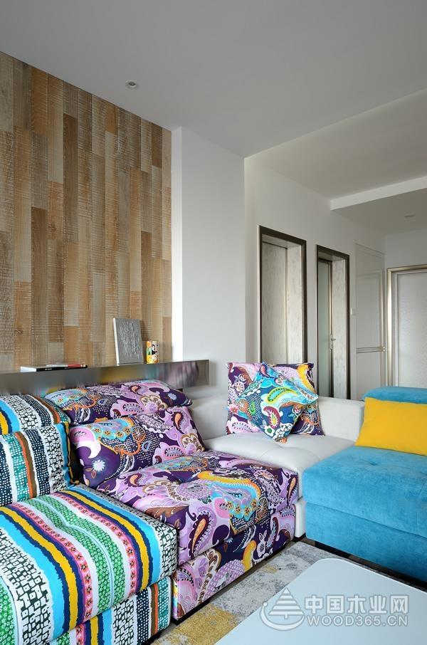 北欧风格三居室效果图!
