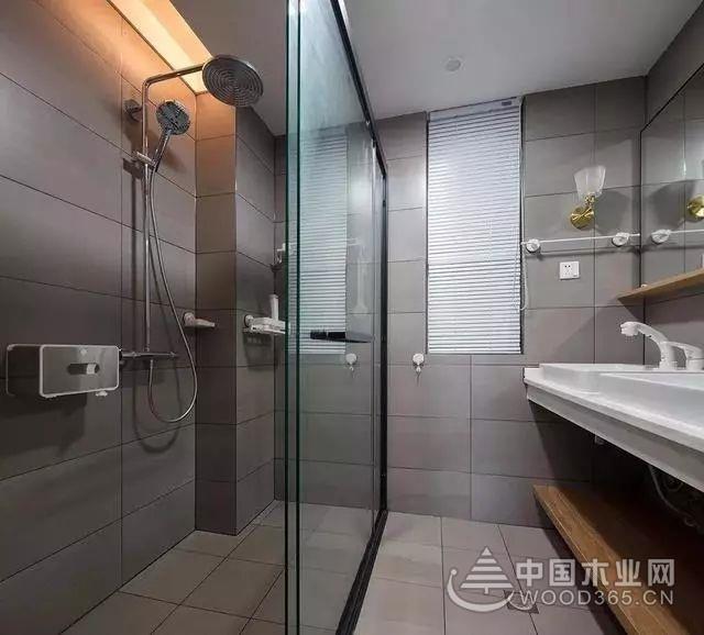 106㎡3房2厅装修效果图,简约原木风格!