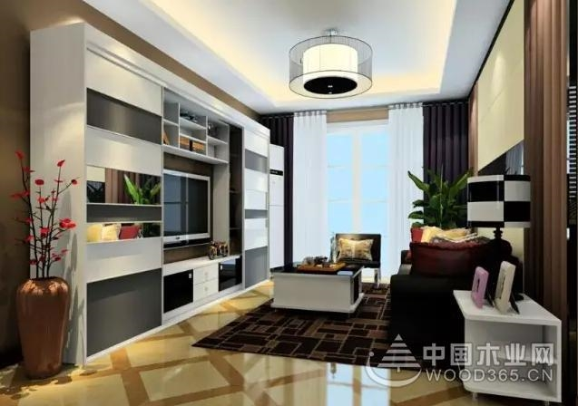 小户型客厅餐厅一体装修效果图,遇见未来你的家