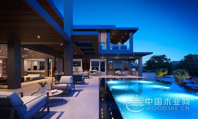 简约风别墅装修效果图,超级豪宅设计